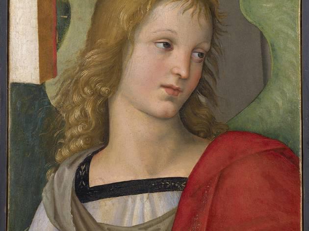 (Raphaël, 'Ange', 1501 / © Pinacoteca Tosio Martinengo – Brescia)