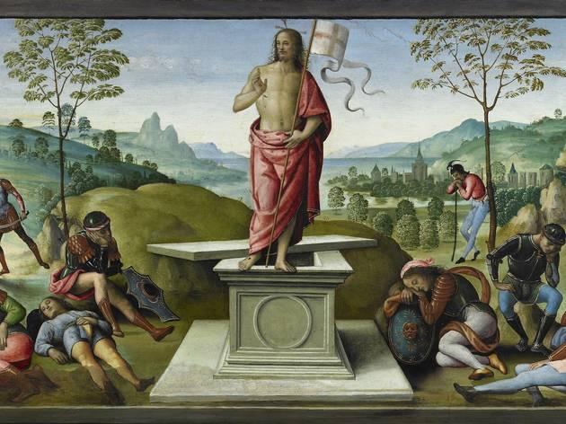 (Le Pérugin, 'La Résurrection', 1496-1500 / © C. Lancien, C. Loisel / Musées de la ville de Rouen)