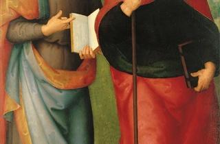 (Le Pérugin, 'Saint Jean l'Evangéliste et Saint Augustin', 1502-1512 / © STC Mairie de Toulouse)