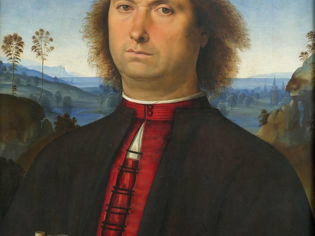 (Le Pérugin, 'Portrait de Francesco delle Opere', 1494 / © Soprintendenza Speciale per il Patrimonio Storico Artistico di Firenze)