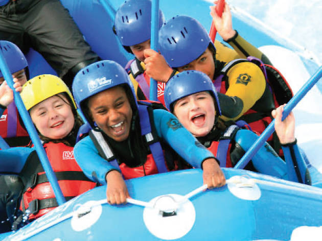 101 things to do with kids in London, Lee Valley White Water Centre, teenage sessions