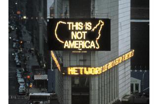 Alfredo Jaar, A Logo for America