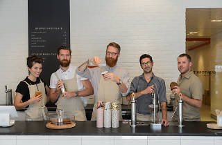 Mast Brothers Chocolate opens a brew bar at its Brooklyn factory