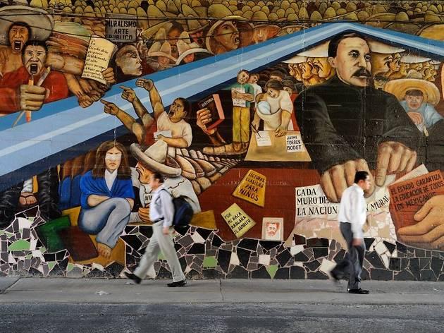 Murmures des Amériques : graffiti et street art en Amérique latine