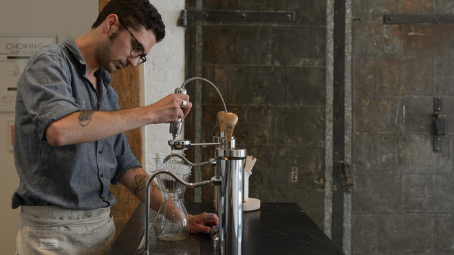 The Mast Brothers open a brew bar