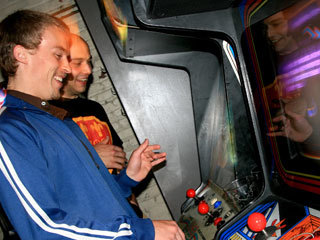 Check out arcade games at Barcade