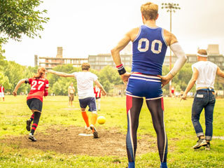 Join the Brooklyn Kickball league