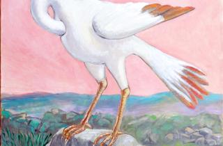 (Roland Topor, 'Cigogne', 1994 / Courtesy de l'artiste et galerie Anne Barrault, Paris)