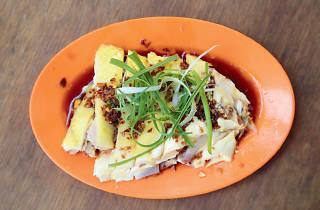 Pudu chicken rice stall