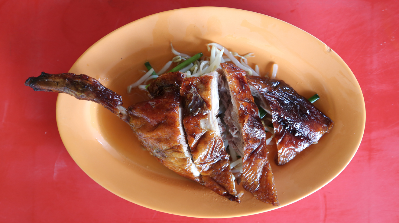 Roasted goose at Chen Chen