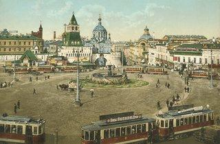 Pyotr Pavlov ('Moscow. Lubianka', 1910s)