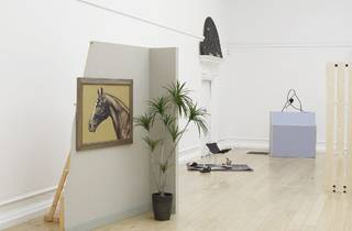 (Installation view of 'Last Seen Entering the Biltmore' at the South London Gallery, 2014.)
