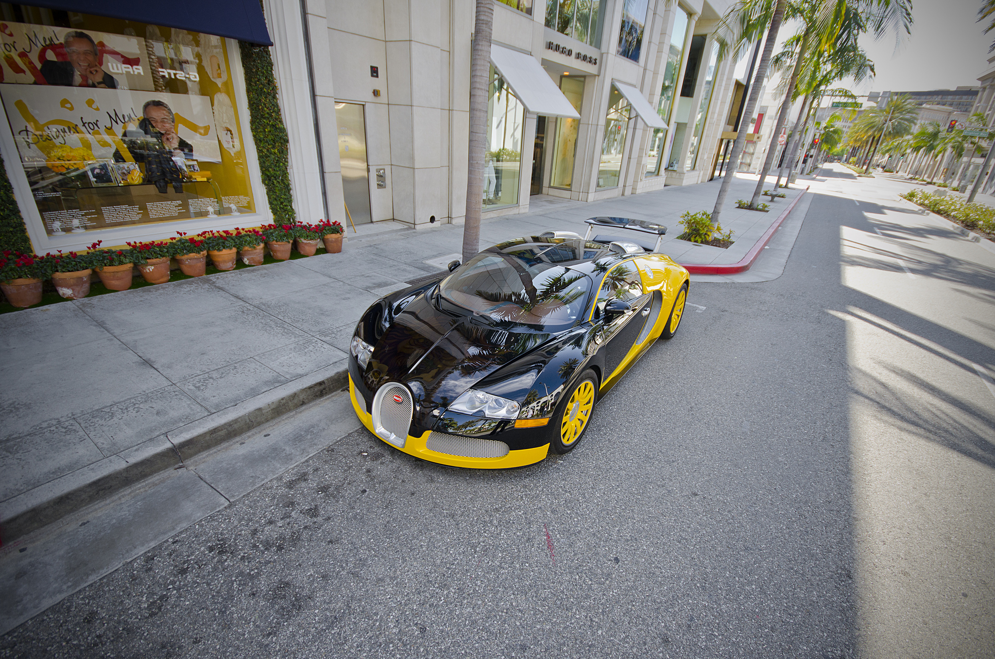 Bijan's Bugatti Veyron.