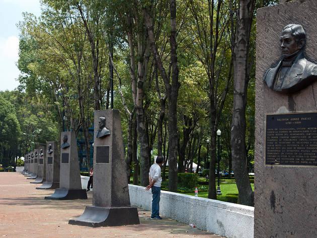 Explanada delegación Benito Juárez