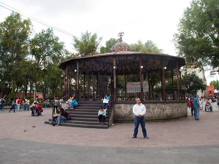 Explanada delegación Coyoacán