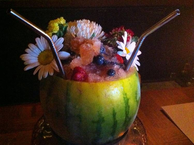 Drink Billy Sunday's watermelon cocktail