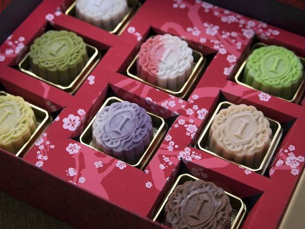 Handcrafted mooncakes by Tao Chinese Cuisine
