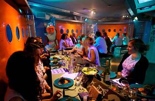 Gingerline secret supperclub London