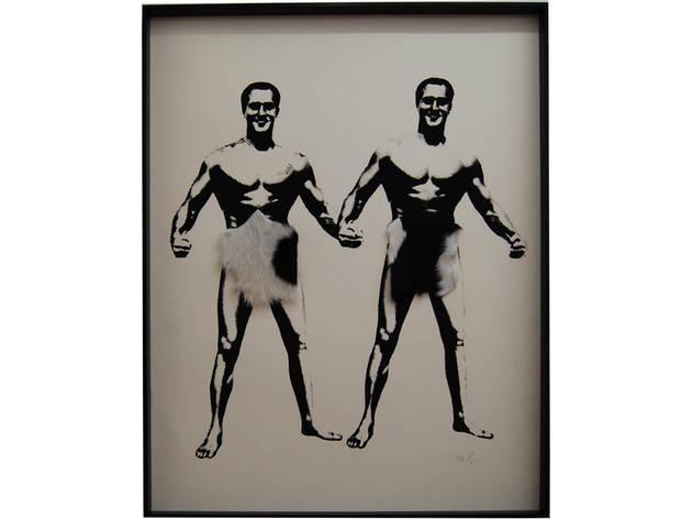Charles Atlas, 1973 (Foto: Arturo Vega. Cortesía Galería OMR)
