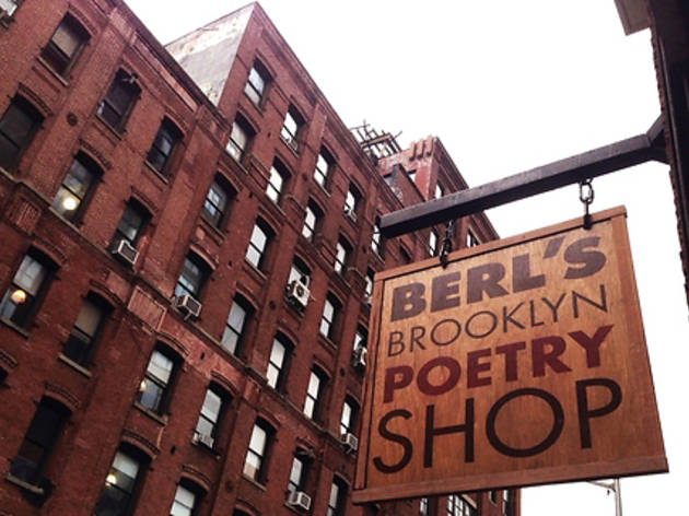 Berl's Brooklyn Poetry Shop