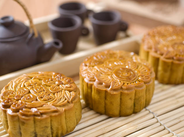 Mooncakes at Si Chuan Dou Hua