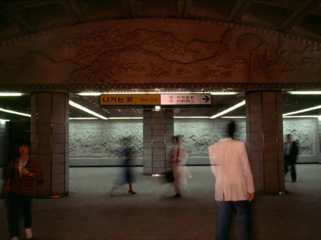 (René Burri, 'Parking' / © René Burri / Magnum photos)