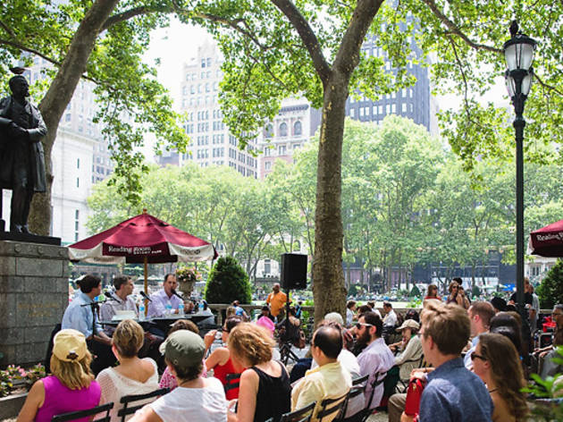 Deny the end of summer at these outdoor literary events