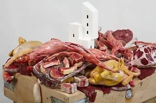 (Gilles Barbier, 'Habiter la viande crue', 2013 /  © Adagp, Paris, 2014 )