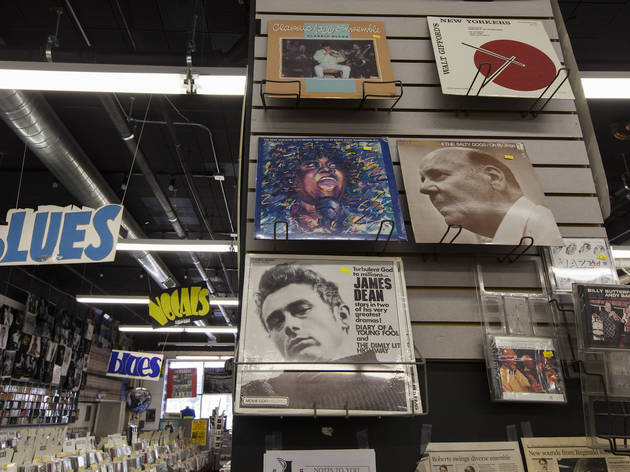 The man behind Jazz Record Mart has opened a new store