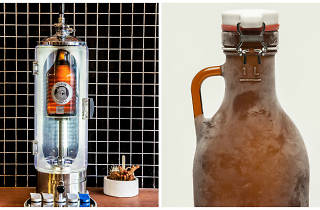 Growler and bottle