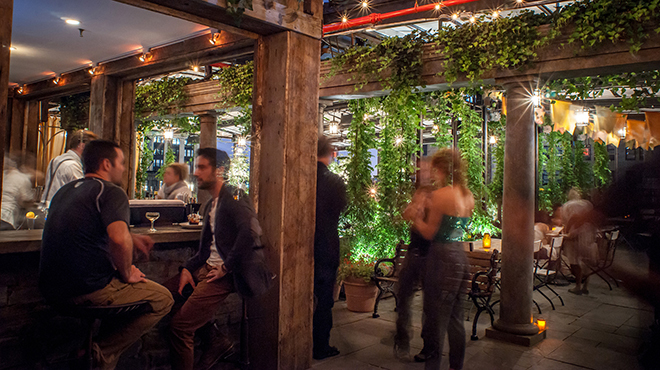 Rooftop restaurants in NYC