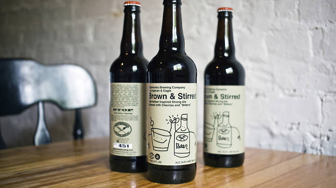 Brown & Stirred beer review