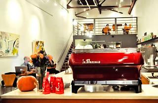 Bru Coffeebar in Los Feliz Village.