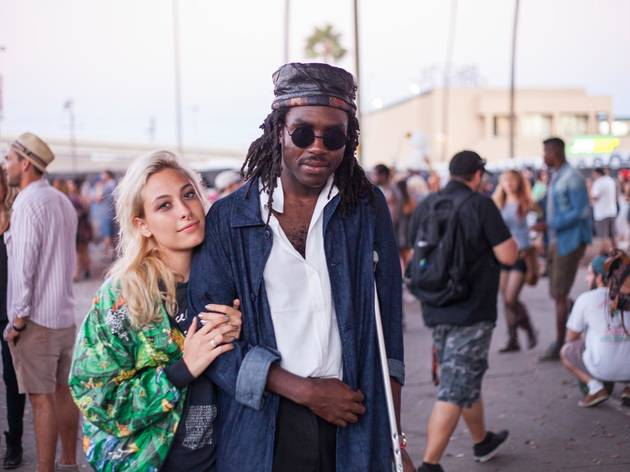 Blood Orange at FYF 2014: Saturday