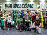 Comic, movie and video game lovers dress up as their favorite characters for Wizard World Chicago Comic Con on August 23, 2014.