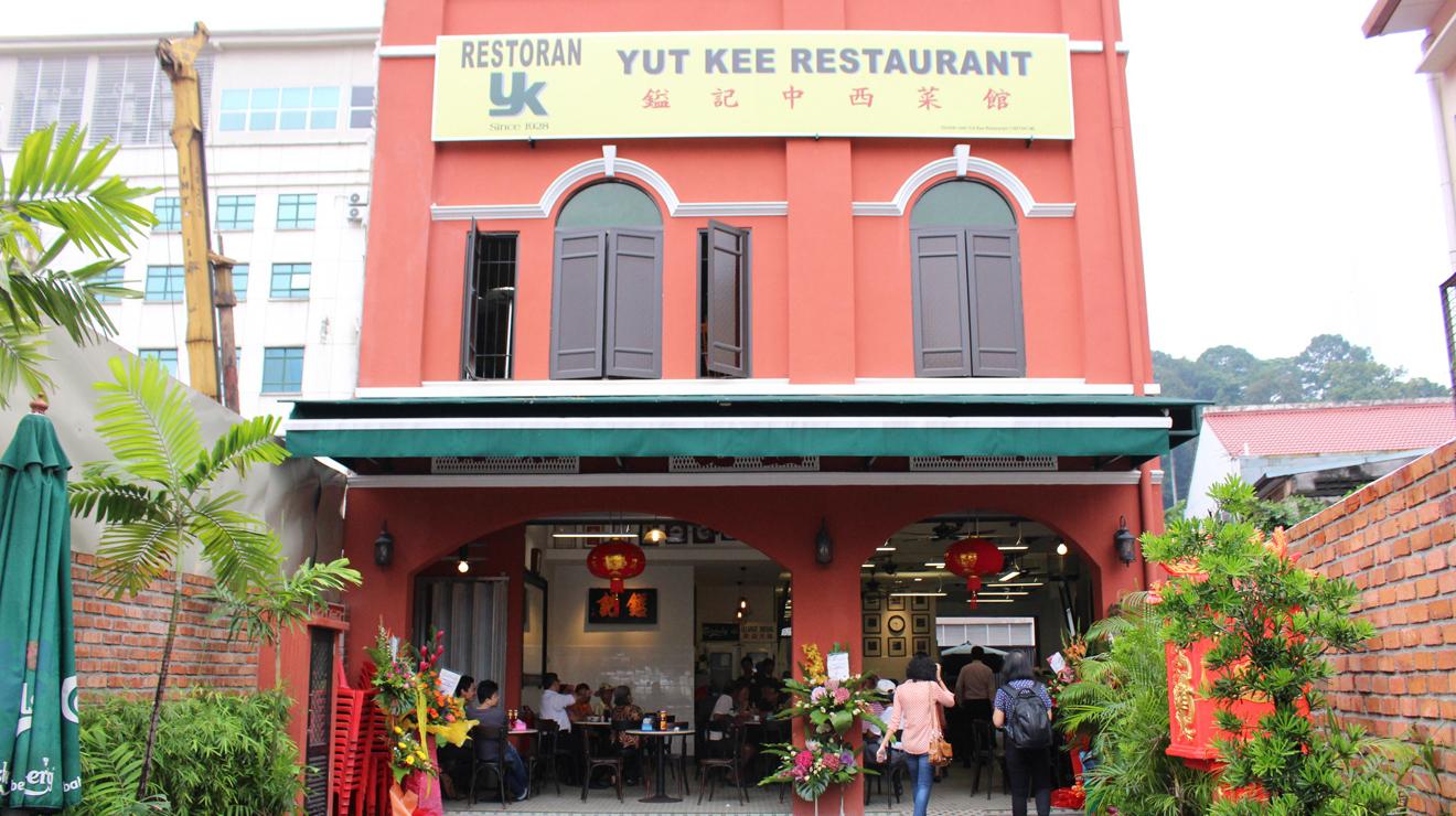 Yut Kee's new facade