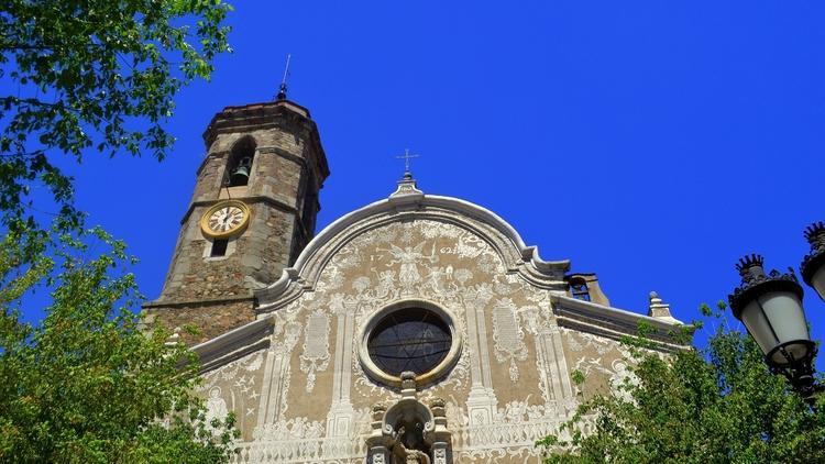 Església de Sant Martí  ((1634-1703, i esgrafiat de 1762))
