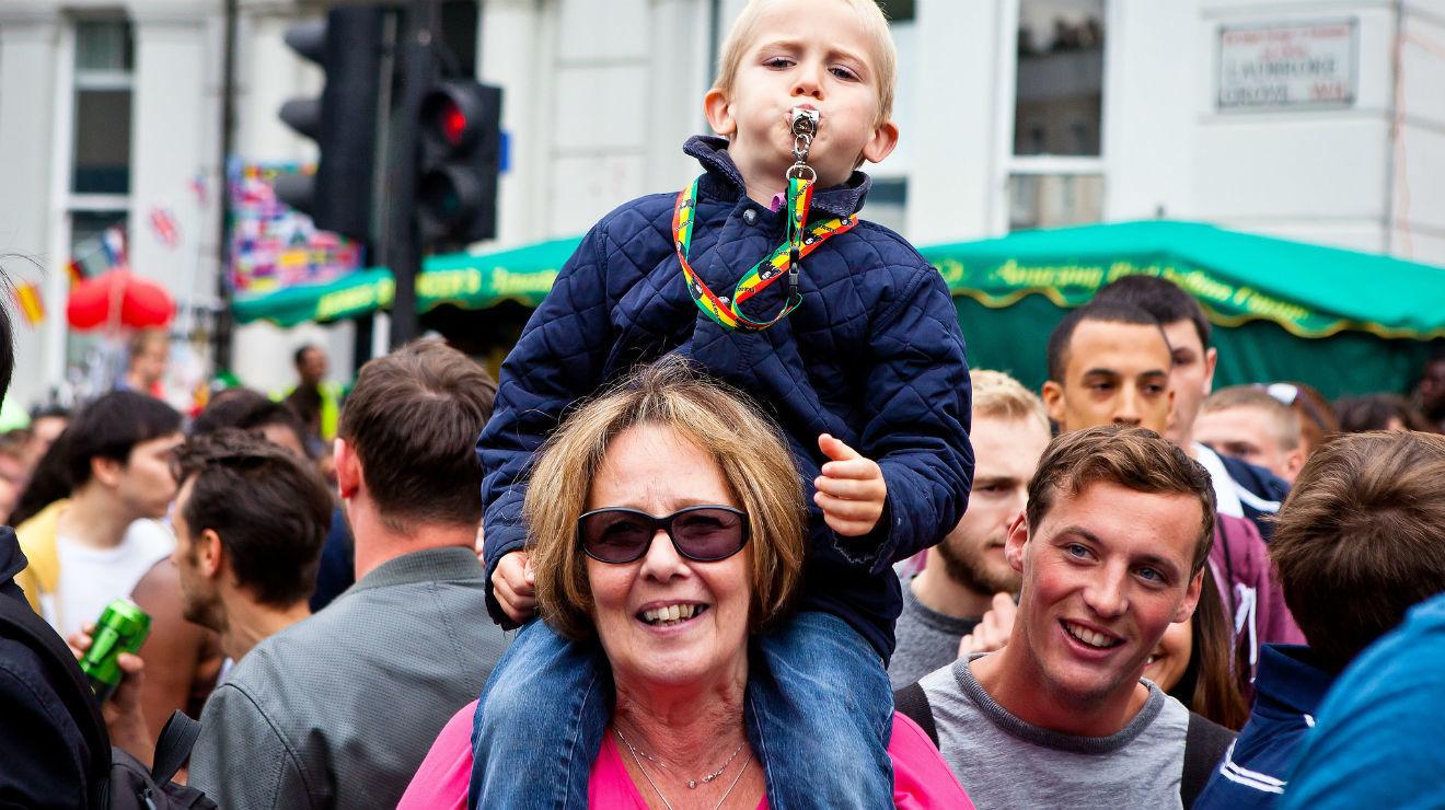 Photo:kids at Carnival