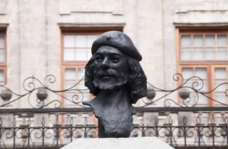 Busto del Ché Guevara (Foto: Alejandra Carbajal)