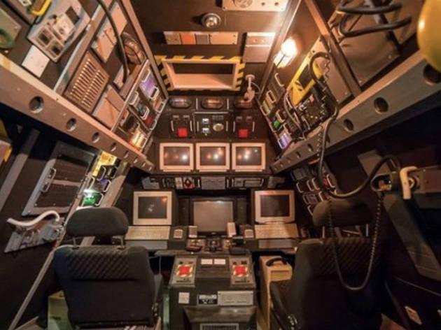 13. The space ship attic