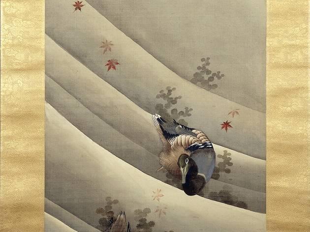 (Katsushika Hokusai, 'Canards dans le courant', 1847 / © British Museum /  dist. Rmn-Grand palais)