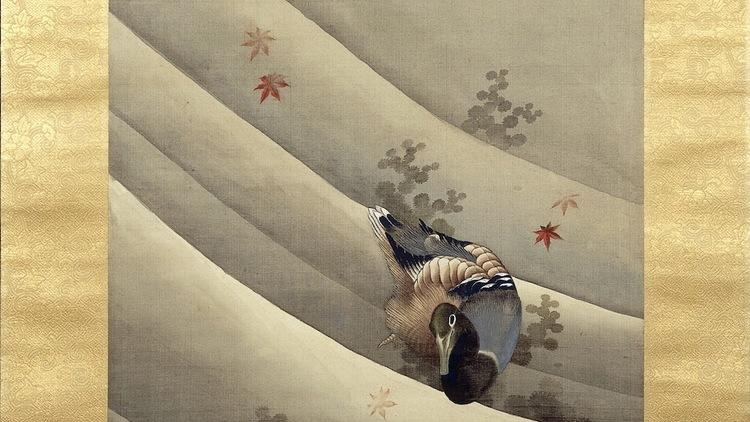 Katsushika Hokusai, 'Canards dans le courant', 1847 / © British Museum /  dist. Rmn-Grand palais