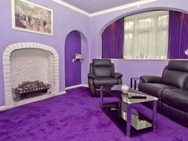 16. The purple house