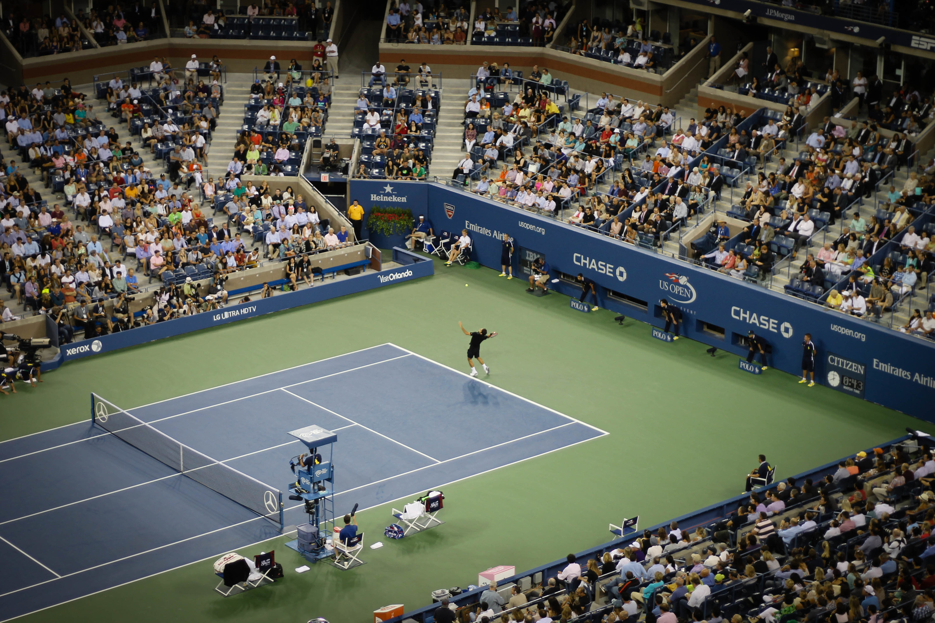 Here's what you can get up to at the U.S. Open (2014)