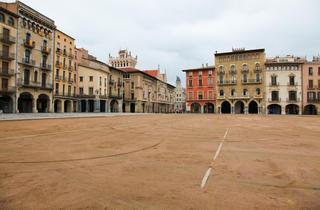 Vic's main square (Osona)