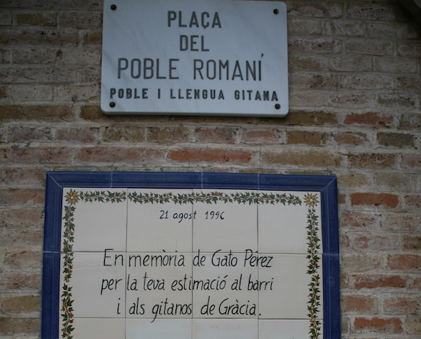 Plaça del Poble Romaní