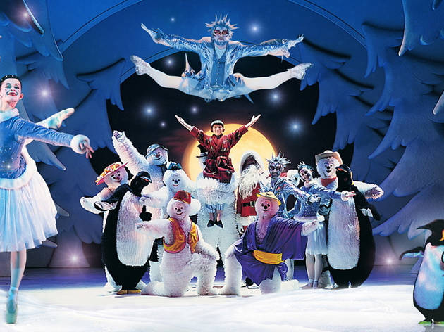 Christmas theatre shows for kids - the snowman