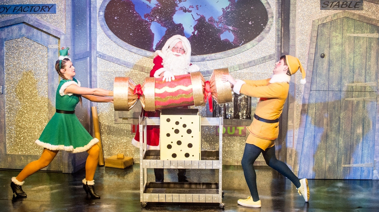 Christmas theatre shows for toddlers