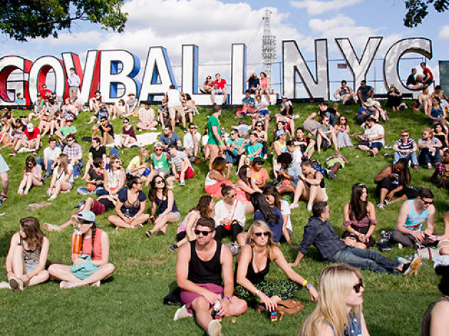 Governors Ball on Governor's Island, June 6-8th 2014
