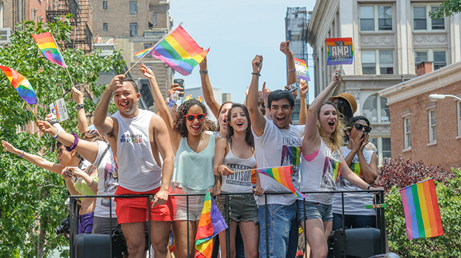 Where to celebrate marriage equality in NYC today